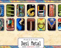Desi Metal Font