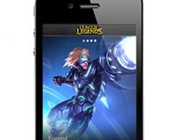 Riot Games Mobile iPhone App
