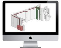 Interior 3D illustration