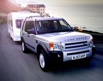Land Rover shoot