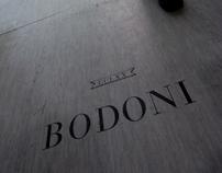 Hommage à Bodoni 270