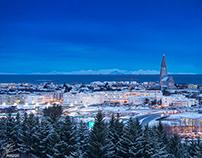 Early winter morning - Reykjavik - January 2020