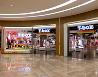 T-BOX Brand Identity&Shop Concept