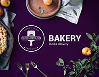 Bakery & Food Delivery service, Landing page