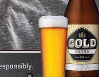 Gold Extra Beer- Responsibility Posters