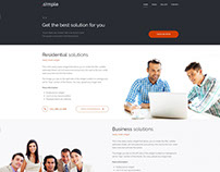 PE Simple Business WordPress theme
