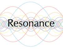 Resonance music festival logo