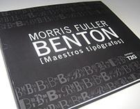 Maestros Tipógrafos - Morris Fuller Benton