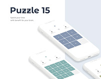 Puzzle 15 Mobile Game