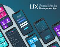 UX Social Media Management App