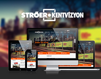 Ströer Kentvizyon - Responsive Corporate Website