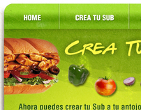 Subway / Crea tu Sub