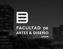 Identidad Facultad de Artes y Diseño Propuesta A