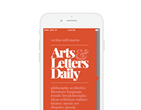 Arts and Letters Daily App