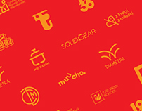 Various logos and symbols