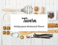 Web Design - Tavern Restaurant Theme
