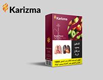 Karizma Tobacco Molasses Packaging
