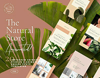 Natural Store - Animated Stories byNomad Visuals