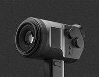D4H. A mirrorless camera concept.
