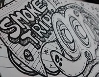 Doodle Smoke Trip - Wilmai