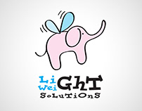 Elephant cartoon business logo icon design designer