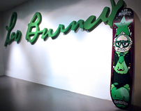 Green Totem Skateboard For Leo Burnett Venezuela