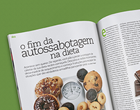 Nutrition Editorial Design
