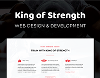 King of Strength | UI & UX Design