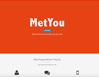 Logo Design: MetYou