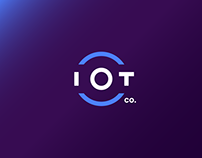 IOTco. Smart Automation - Logo and visual identity