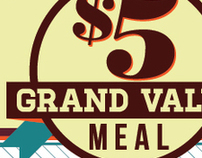 $5 Grand Value Meal