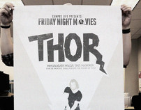 CAMPUS LIFE // Minimalist Movie Posters 2011-2012