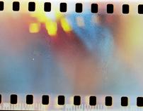 People in film frames
