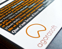 Agorasoft business card
