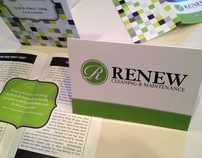 Renew Cleaning and Maintenance - Branding