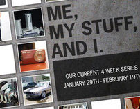 "North Church - ""Me, My Stuff, and I"" Series Graphics"