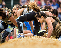 Photography of the 2017 CrossFit Games Book