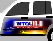 WTOL Vehicle Wrap