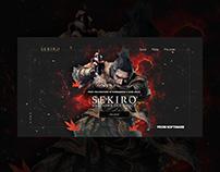 Sekiro: Shadows Die Twice Web Concept