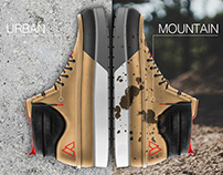 LIGHT HIKING/CASUAL BOOTS DESIGN