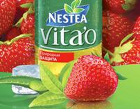 Nestea Vitao «Strawberry». TTL Campaign (ATL, BTL)