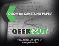 [2015] GeekOut Podcast Logo