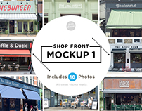 Shop front mockups 1