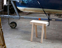 Topette Stool Bedside Table