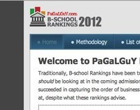 B-school Rankings '12 UI design