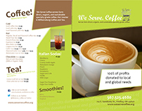 We Serve Coffee Menu