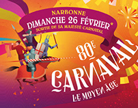 MAIRIE DE NARBONNE CARNAVAL : Campagne