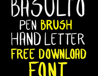 HAND LETTER FONT FREE