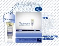 Neutrogena - Latin American Idol Minisite