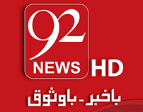 92News HD Social Cover Page Project